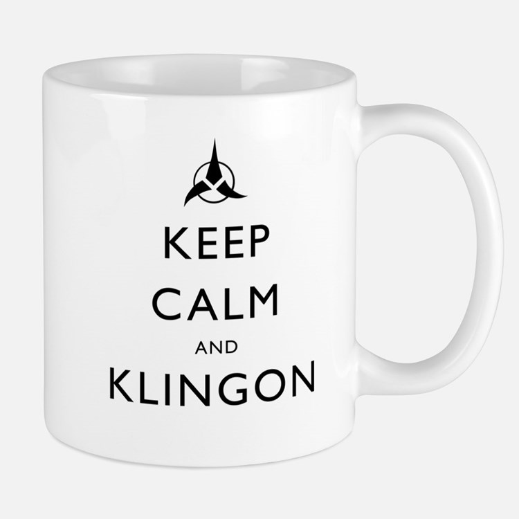 Keep Calm and Klingon Mug