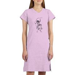 Bull rider Women's Nightshirt