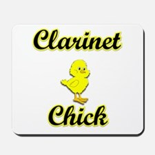 Clarinet Chick Mousepad