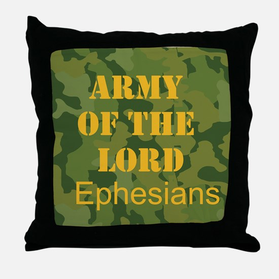 Army of the Lord (Ephesians 6 Throw Pillow