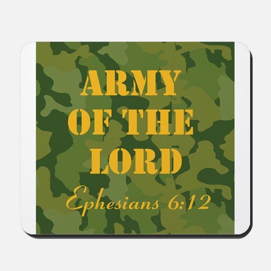 Army of the Lord (Ephesians 6 Mousepad