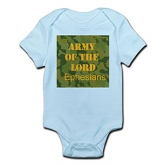 Army of the Lord (Ephesians 6 Infant Bodysuit