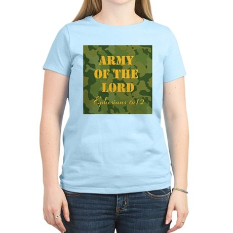 Army of the Lord (Ephesians 6 Women's Light T-Shir