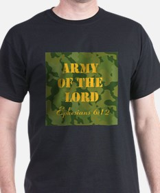 Army of the Lord (Ephesians 6 T-Shirt