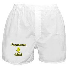 Insurance Chick Boxer Shorts