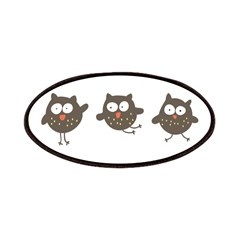 Silly Owls Patches