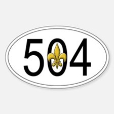 504 sticker Decal