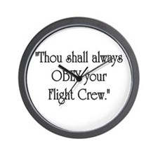 Thou Shall Wall Clock
