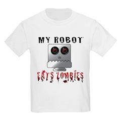 My Robot Eats Zombies T-Shirt