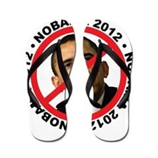 Cute Stop obama Flip Flops