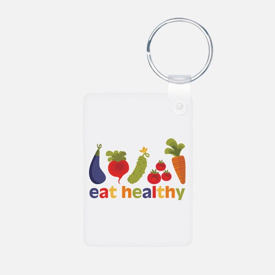 Eat Healthy Keychains