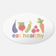 Eat Healthy Decal