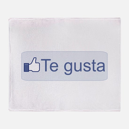 Te Gusta Throw Blanket
