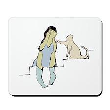 Cat Friend Mousepad