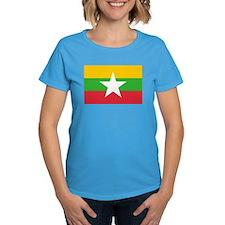 Myanmar Flag Tee