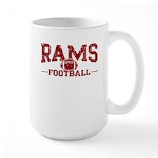 Rams Football Mug