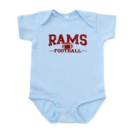 Rams Football Infant Bodysuit