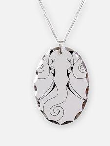 Swirly Elephant Necklace