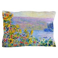 Monet - Flower Beds Pillow Case