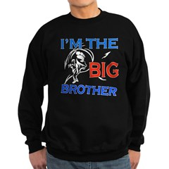 Cool Karate Big Brother Design Sweatshirt