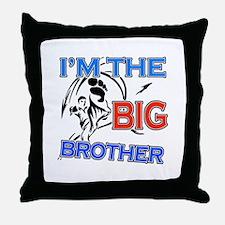 Cool Karate Big Brother Design Throw Pillow
