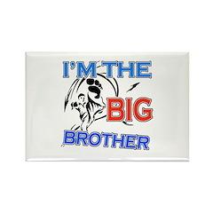 Cool Karate Big Brother Design Rectangle Magnet (1