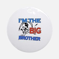 Cool Karate Big Brother Design Ornament (Round)