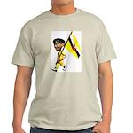 3D Brunei Ash Grey T-Shirt