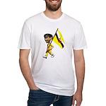 3D Brunei Fitted T-Shirt