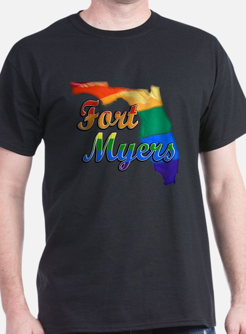 Fort Myers, Florida, Gay Pride, T-Shirt