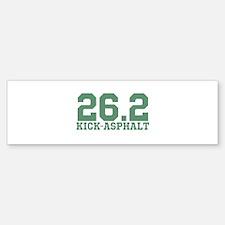 26.2 Kick Asphalt Bumper Bumper Sticker
