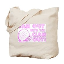 Jam Out with yer Clam Out! Tote Bag