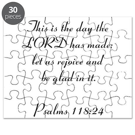 Psalms 118:24 Puzzle