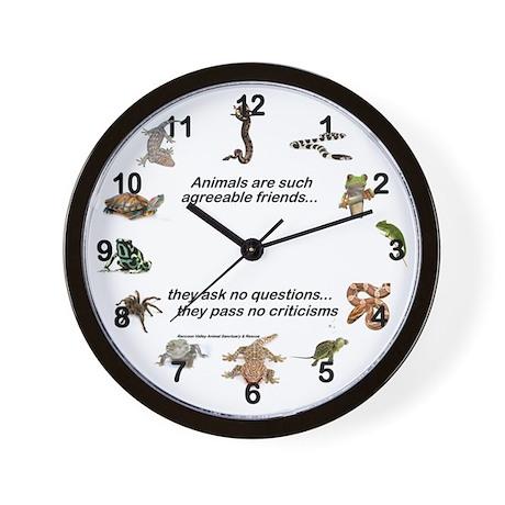 REPTILE LOVER - Wall Clock