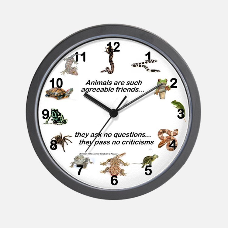 REPTILE LOVER - Wall Clock