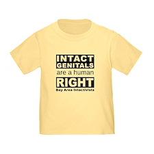 bai_human_right_8x8_black T-Shirt