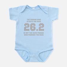 26.2 Marathon Saying Infant Bodysuit
