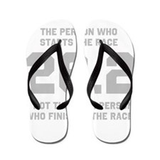 26.2 Marathon Saying Flip Flops