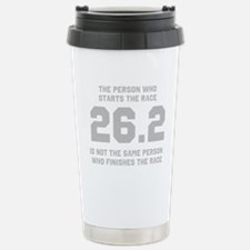 26.2 Marathon Saying Travel Mug