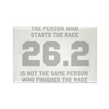 26.2 Marathon Saying Rectangle Magnet