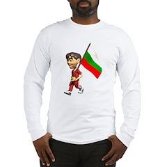 3D Bulgaria Long Sleeve T-Shirt