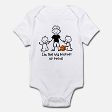 Big Brother of Twins - Stick Characters Infant Bod