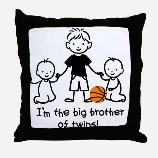 Big Brother of Twins - Stick Characters Throw Pill
