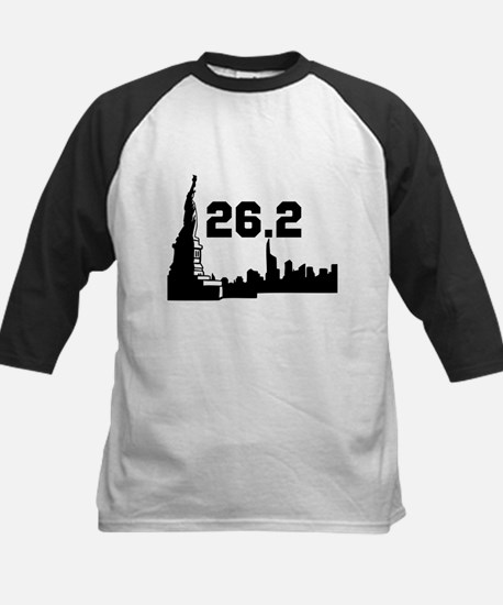 New York Marathon 26.2 Kids Baseball Jersey