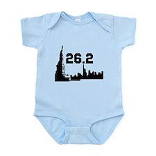 New York Marathon 26.2 Infant Bodysuit