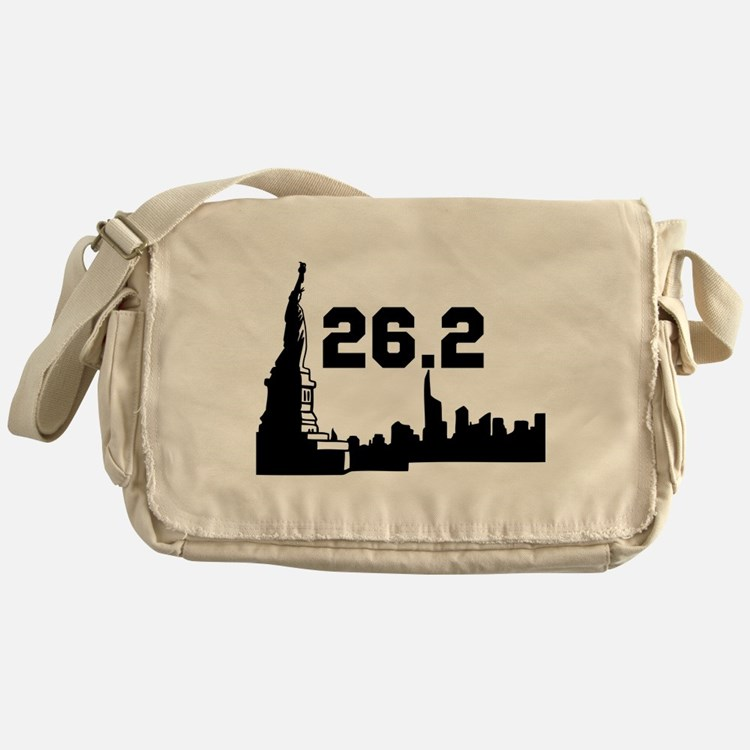New York Marathon 26.2 Messenger Bag