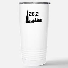New York Marathon 26.2 Stainless Steel Travel Mug