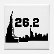 New York Marathon 26.2 Tile Coaster