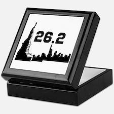 New York Marathon 26.2 Keepsake Box