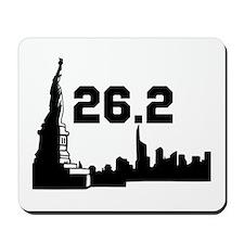 New York Marathon 26.2 Mousepad